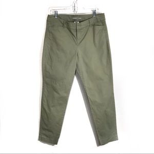 Old Navy Pixie Green Chinos Ankle Pants Size 12